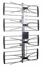 New Powerful Outdoor Indoor HDTV Digital Amplified TV Antenna UHF
