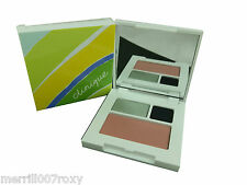 ALL ABOUT DUO EYE SHADOW CLINIQUE PLUS BLUSHING BLUSH 'CUPID' MIRRORED COMPACT