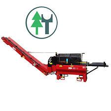 JAPA355 PLUS TR (Z) Zapfwelle Spaltautomat hydraulisch Sägespalter + Förderband