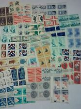 UN-USED and New 200 US Postage Stamps, Multiples & Singles of 5 ¢. FV = $10.00