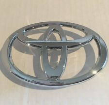 2005 2006 2007 2008 Toyota Corolla Front Grille Emblem Chrome Logo-GENUINE OEM