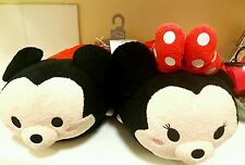 Valentines SALE Disney Tsum Tsum Slippers Mickey + Minnie Mouse Adult Unisex