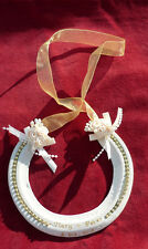 Personalised Lucky REAL Wedding Horseshoe GOLD light Racehorse shoe Pearls