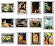 "CONGO 2007- 09 -10 F."" Masterpieces of Painting of the World"" Mintage 1000 PCS"