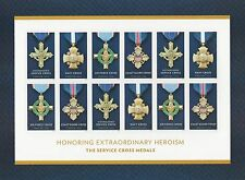 US 5065-5068 Service Cross Medals forever sheet MNH 2016
