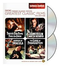 TCM Greatest Classic Films Collection: Hammer Horror [2 Discs (2010, DVD NEW) WS