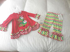 NWT  Rare  Too  Funky Christmas Outfit  Sz.2T  NEW