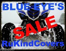 BLUE EYE'S HEAD LIGHT GRAPHIC DECAL COVER YAMAHA RAPTOR 700/350 YFZ450 ATV/UTV