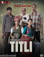TITLI - BOLLYWOOD OFFICIAL 2 DISC COLLECTORS DVD [YASH RAJ] - FREE POST