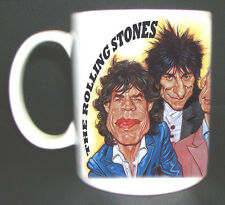 ROLLING STONES CARICATURE MUG GREAT DESIGN LIMITED EDITION NEW