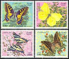 Algeria 1981 Butterflies/Insects/Nature/Conservation/Environment 4v set (n18501)