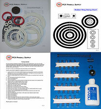 1977 Zaccaria Universe Pinball Machine Tune-up Kit - Includes Rubber Rings!