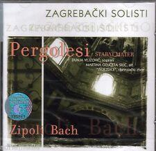 ZAGREBAČKI SOLISTI CD Pergolesi Zipoli Bach Croatia Zagrebacki Dunja Vejzovic