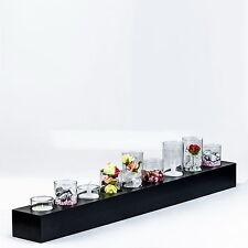 Tisch Deko mit Teelichtglas / Vase Endless Light Teelicht-Vasen-Objekt 32178