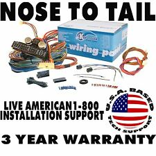 ROUTE 22 15 Fuse 24 Circuit Street Hot Rat Rod Wiring Harness Wire Kit mopar v8