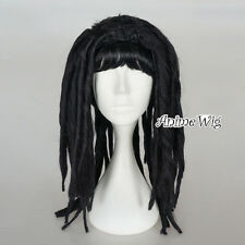 Omelet Princess Egyptian Cleopatra Ladies Fancy Dress Women Black 55cm Wig