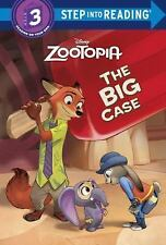 Step into Reading: The Big Case by Bill Scollon and Random House Disney Staff...