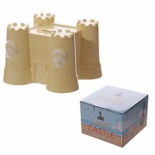 Fun Novelty Ceramic Sand Castle Money Box Gift Kids