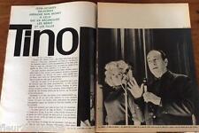 Coupure de presse Tino Rossi  french clipping 1963