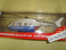 COFFRET MAJORETTE HELICOPTERE EC 145 SOS POLICE 1/24° NEUF REF 213565922002