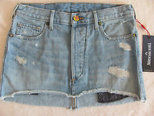 True Religion Cut-off Mini Skirt- Destroyed -TR Vintage- Size 25- NWT $179