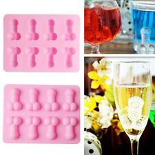 Cute Novelty Willy Penis Silicone Chocolate Ice Jelly Cake Mould Mold Hens Party