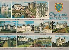 BF20361 chateaux de la loire multi views france front/back image