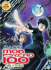 DVD Japan Anime MOB PSYCHO 100 Complete Series (1-12 End) English Subtitle