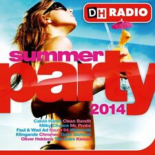 CD DH RADIO - SUMMER PARTY 2014 - compilation 24 titres (neuf sous cellophane)