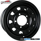 Dynamic Black Sunraysia 'D Window' Wheel Rim 16x7 5/165.1 +20 for Landrover