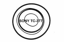 COURROIES SET SONY TC377 MAGNETOPHONE A BANDE EXTRA FORT NEUF DE FABRIQUE TC 377