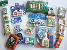 RARE SANRIO Japan Vintage Huge LOT Hello kitty Pochacco Pekkle Keroppi Eraser