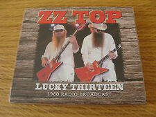 CD Album: ZZ Top : Lucky Thirteen : Live Passaic New Jersey 1980 : Sealed