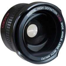 SUPER WIDE HD FISHEYE LENS FOR PANASONIC HDC-SD5 HDC-SD9