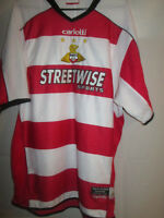 2005-2006 Doncaster Rovers Home Football Shirt Size Large  /15023