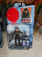 2000 Marvel X-Men Movie Figure MOC WOLVERINE Claw Slashing