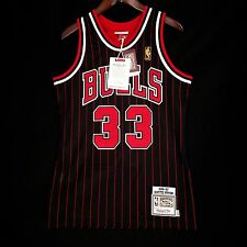 Authentic Mitchell Ness Scottie Pippen Bulls 96 97 Pinstripe Jersey Size 36 S