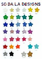 DIY Kit Felt Stars Pom Pom Garland Bunting Decoration 30 x 3-4cm Stars
