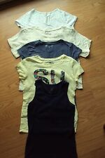 Girls 5 Pc TCP Mudd Old Navy Disney Justice Shirts Tank Top Size XL 14