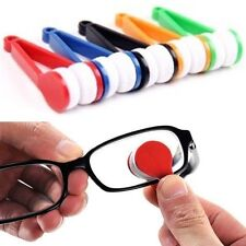 FD412 Mini Sun Glasses Eyeglass Microfiber Brush Cleaner Home Office Easy ~1PC g