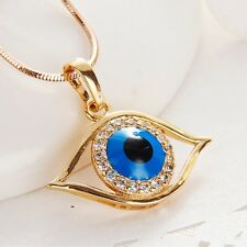 Womens New Fashion Turkish Evil-Eye Pendants for Long Necklace Jewelry