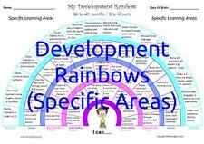 DEVELOPMENT RAINBOWS (SPECIFC) - Track children's progress from 0 to 5 years!