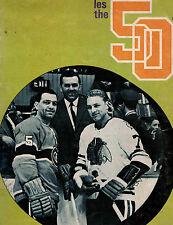La Revue Sportive Canadiens Sports Magazine November 22, 1969- Double Issue