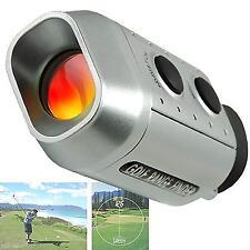 Pocket Monocular Digital 7x Golf Scope Range Finder Yards Measure Distance Meter