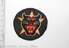 "Patch_  ARVN RANGER ""Black Panther Head"" Pocket Patch"