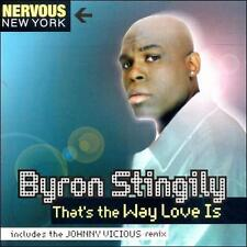 That's the Way Love Is [Single] by Byron Stingily (CD, Oct-1999, Nervous (USA))