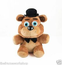 "FNAF FIVE NIGHTS AT FREDDYS SMALL 7"" 17.5cm FREDDY BEAR SOFT PLUSH CUDDLY TOY"