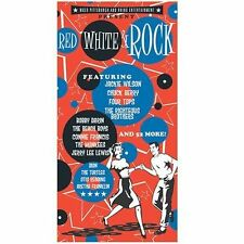 RED WHITE & ROCK (Doo Wop/Rock'n'Roll/Soul) Various Artists 4-CD Box [K109]