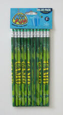 12 Camo Camouflage Pencils Kids Army Military Party Goody Loot Bag Favor Supply