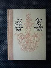 Des Priesters Wernher Drei Lieder Von Der Magd - Hermann Degering